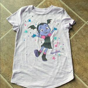 Disney's jumping beans vampirina size 7 shirt